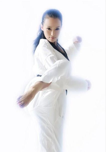 跆拳道美女的高雅气质是怎样练成的